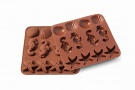 Silikomart - ΚΑΛΟΥΠΙ ΣΙΛΙΚΟΝΗΣ ΘΑΛΑΣΣΙΝΑ ΣΧΕΔΙΑ 3-5cm (κωδ. 0467)