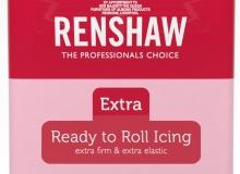 "Renshaw - ΖΑΧΑΡΟΠΑΣΤΑ EXTRA 250gr ΡΟΖ - ""PINK Ready to Roll Icing EXTRA"" (κωδ. 1323)"