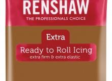 "Renshaw - ΖΑΧΑΡΟΠΑΣΤΑ EXTRA 250gr ΚΑΦΕ ΑΝΟΙΧΤΟ - ""TEDDY BEAR BROWN Ready to Roll Icing EXTRA"" (κωδ. 1325)"