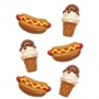 "Wilton ""Icecream & Hot Dog Candy Mold"" - ΚΑΛΟΥΠΙ CANDY ΠΑΓΩΤΑ & HOT DOG (κωδ. 1418)"