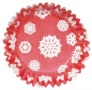 ". Culpitt ""Red Snowflake printed baking cases"" - ΘΗΚΕΣ ΨΗΣΙΜΑΤΟΣ ΝΙΦΑΔΕΣ 50mm σετ 54 (κωδ. 9150)"