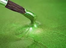 "Rainbow Dust ""Metallic Food Paint - GREEN SPRING PEARLESCENT"" - ΧΡΩΜΑ ΥΓΡΟ ΜΕΤΑΛΛΙΚΟ ΠΡΑΣΙΝΟ ΑΝΟΙΧΤΟ 25ml (κωδ. 2724)"