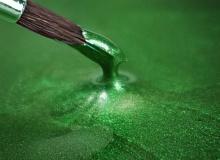 "Rainbow Dust ""Metallic Food Paint - GREEN HOLLY"" - ΧΡΩΜΑ ΥΓΡΟ ΜΕΤΑΛΛΙΚΟ ΠΡΑΣΙΝΟ ΣΚΟΥΡΟ 25ml (κωδ. 2726)"