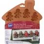 "Wilton ""Bite-Size Gingerbread Boy Mold"" - 12ΘΕΣΙΟ ΤΑΨΙ ΣΙΛΙΚΟΝΗΣ ΜΠΟΥΚΙΑΣ (κωδ. 5813)"