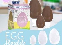 """PME """"Egg Moulds set 3"""" - ΔΙΠΛΑ ΚΑΛΟΥΠΙΑ ΑΥΓΩΝ σετ 3 (κωδ. 608031)"""