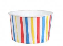 "Culpitt ""Stripe Primaries Baking Cups"" - ΘΗΚΕΣ ΨΗΣΙΜΑΤΟΣ 58mm ΠΟΛΥΧΡΩΜΕΣ ΡΙΓΕΣ σετ 24 (κωδ. 2330)"