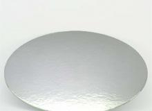 ΔΙΣΚΟΣ 1mm ΧΑΡΤΙΝΟΣ ΑΣΗΜΙ/ΛΕΥΚΟΣ 10cm (κωδ. CD8010)